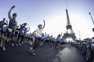 La 1ere édition du Run and Bike de Paris, le 19 octobre 2014