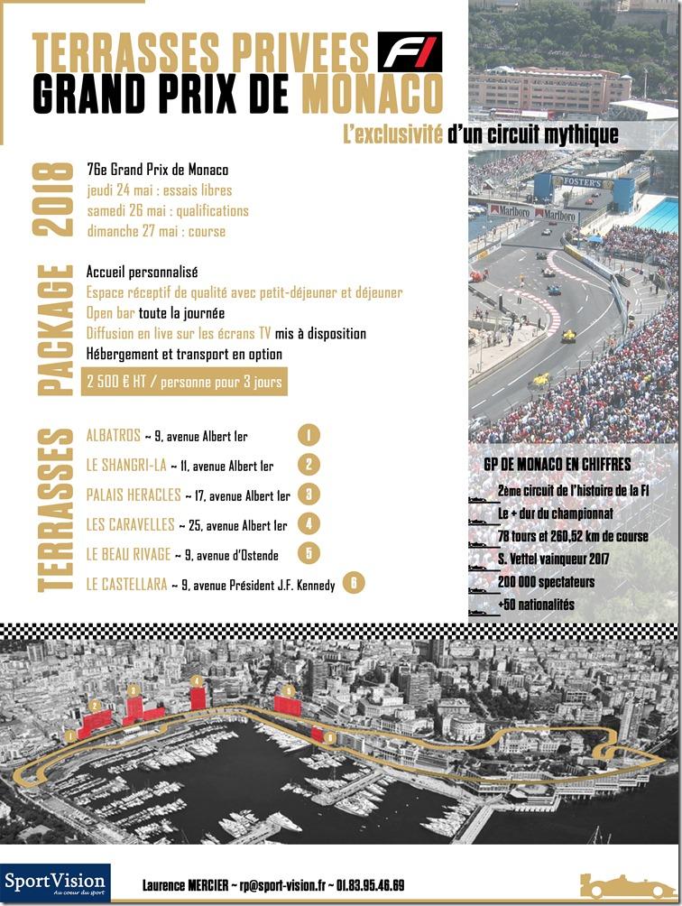 GP F1 de Monaco_Terrasses privées VIP